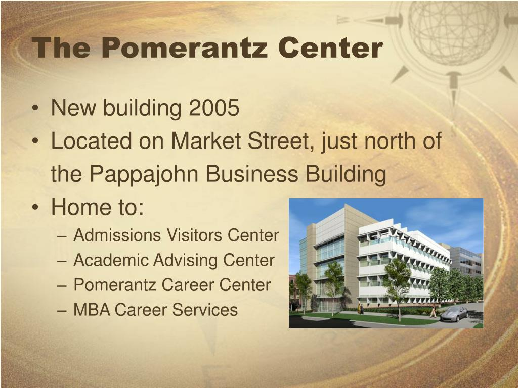 The Pomerantz Center