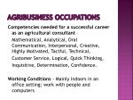 agribusiness occupations11