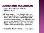 agribusiness occupations14