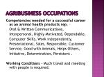 agribusiness occupations15