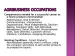agribusiness occupations25