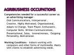 agribusiness occupations9