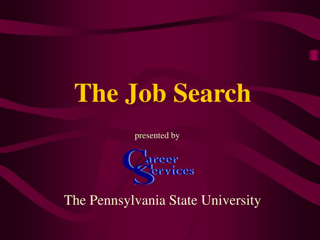 the job search l.