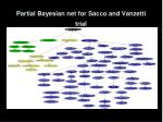 partial bayesian net for sacco and vanzetti trial