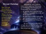 devout christian1