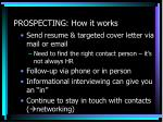 prospecting how it works
