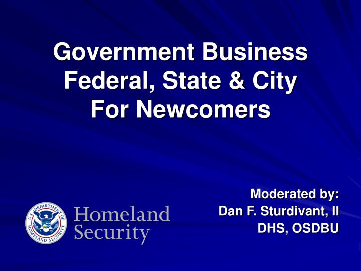 government business federal state city for newcomers n.