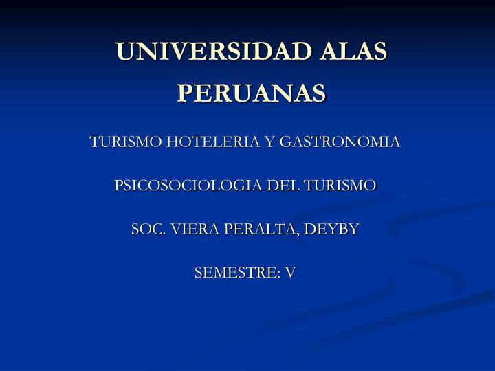 universidad alas peruanas n.