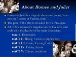 about romeo and juliet