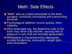 meth side effects