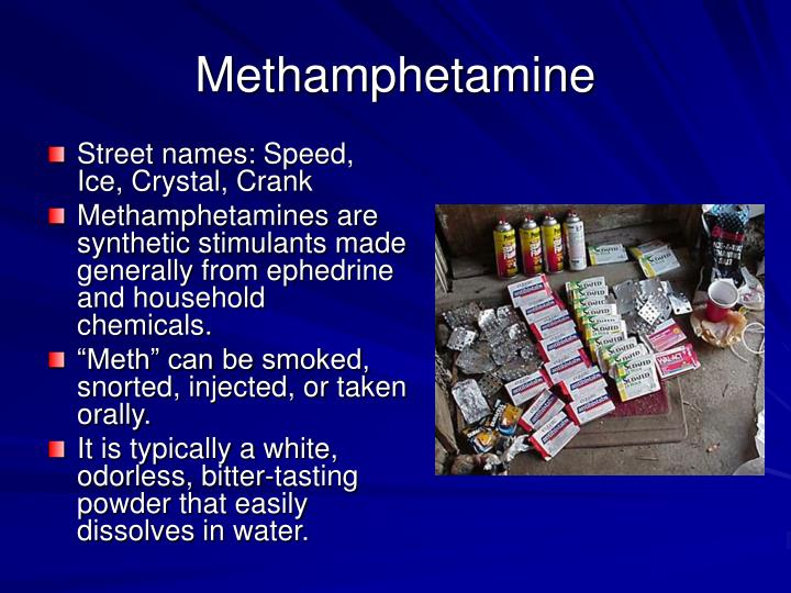 methamphetamine and stimulants A number of animal studies have examined neural plasticity developed in response to stimulant drug use methamphetamine stimulant drugs such as meth.