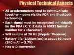 physical technical aspects