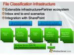 file classification infrastructure