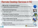 remote desktop services in r2