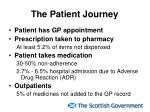 the patient journey