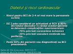 diabetul i riscul cardiovascular1