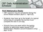 cbt daily administration schedule1