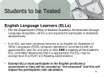 students to be tested3