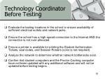 technology coordinator before testing1