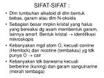 sifat sifat