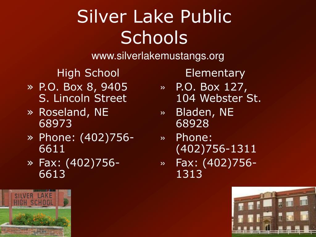 silver lake public schools l.