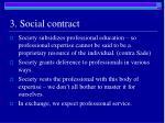 3 social contract