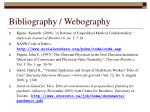 bibliography webography1
