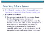 four key ethical issues2