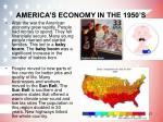 america s economy in the 1950 s