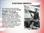 postwar america