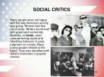 social critics