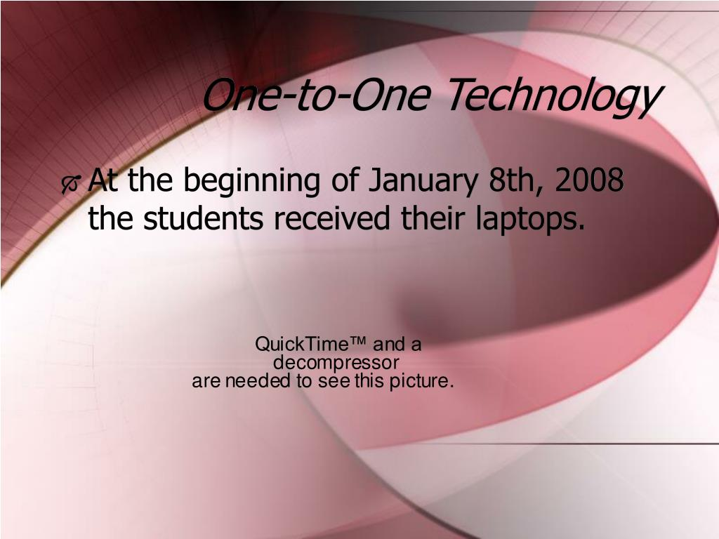 One-to-One Technology
