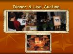 dinner live auction