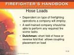 hose loads