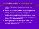 sec 305 registration of food facilities