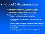 jlarc recommendation