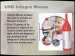 usb integra mouse