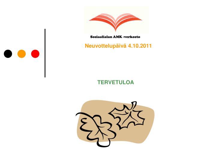 neuvottelup iv 4 10 2011 n.