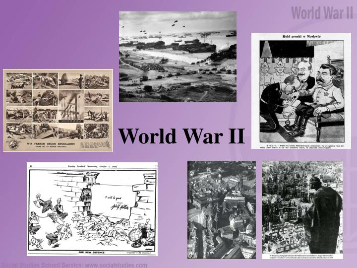 world war ii n.