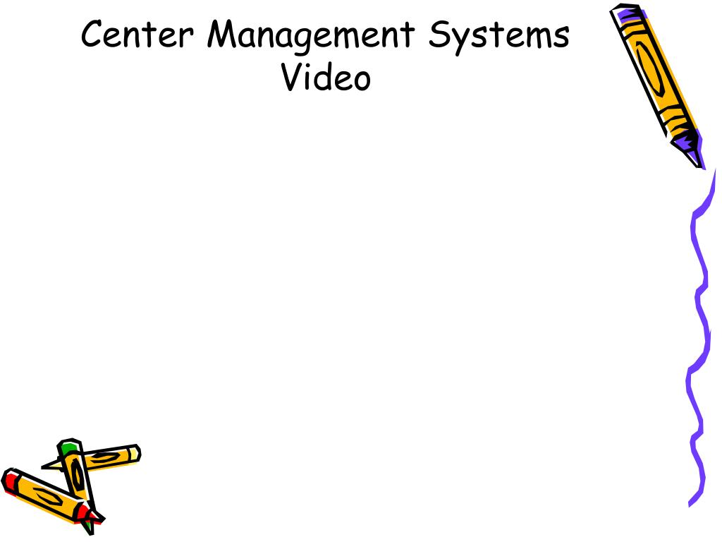 Center Management Systems Video