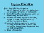 physical education40