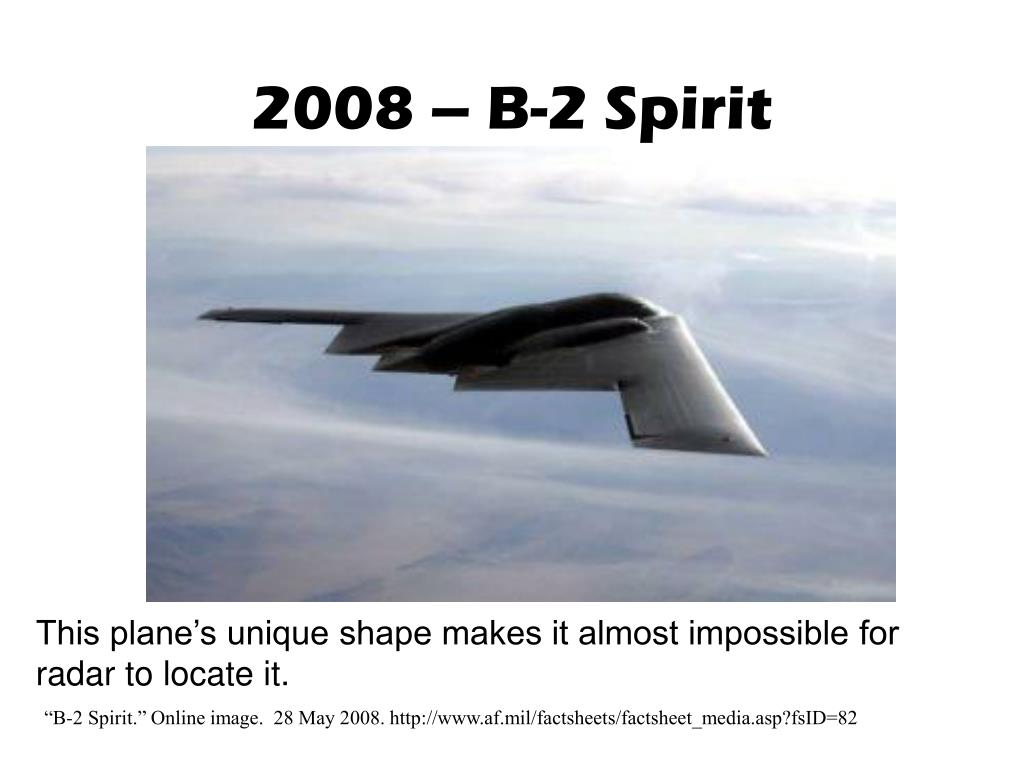 2008 – B-2 Spirit