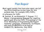 plan repair