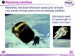 repairing satellites