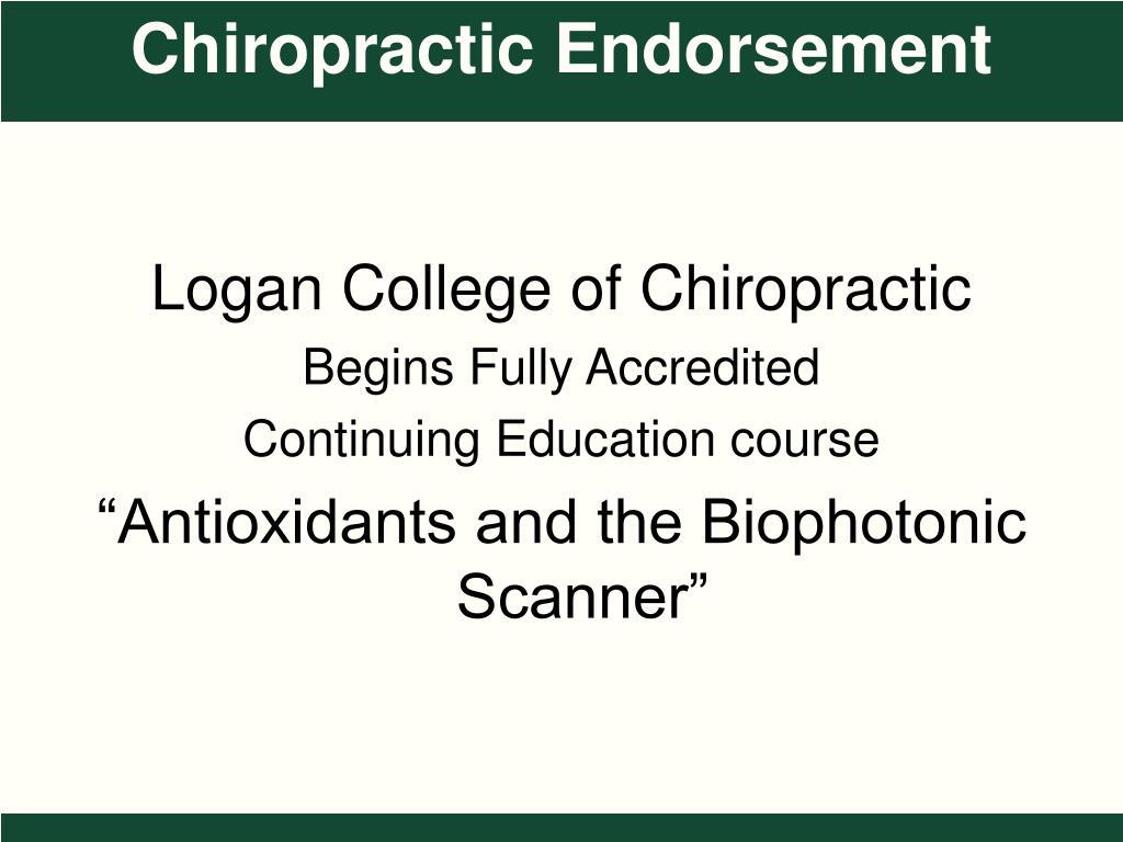 Logan College of Chiropractic