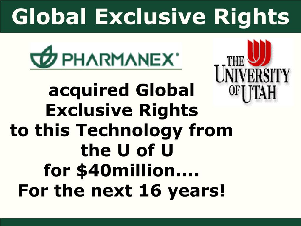 Global Exclusive Rights