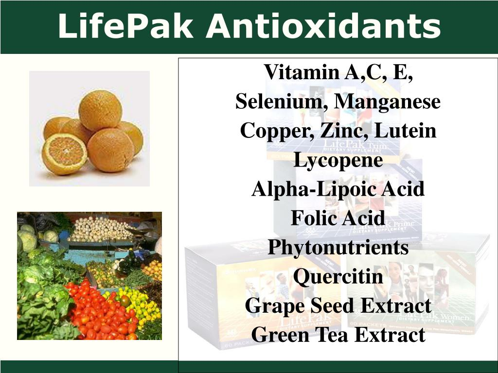 LifePak Antioxidants