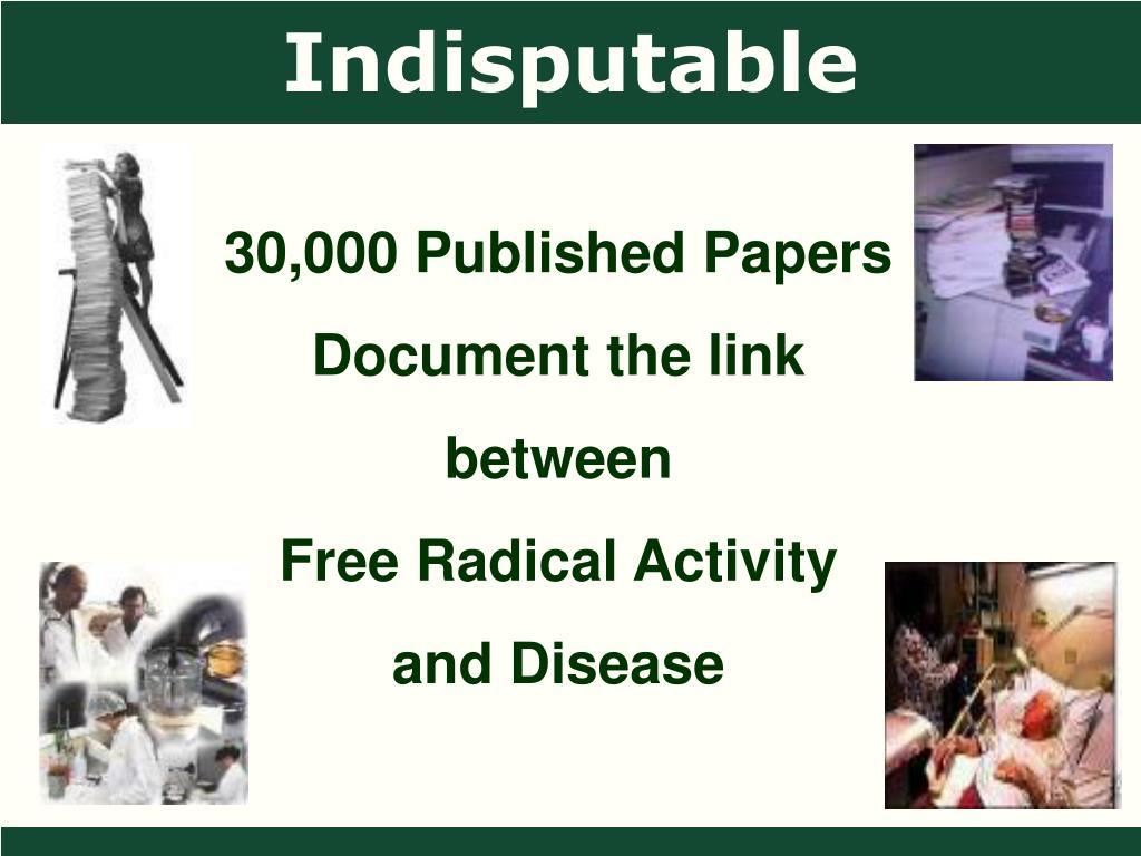 Indisputable