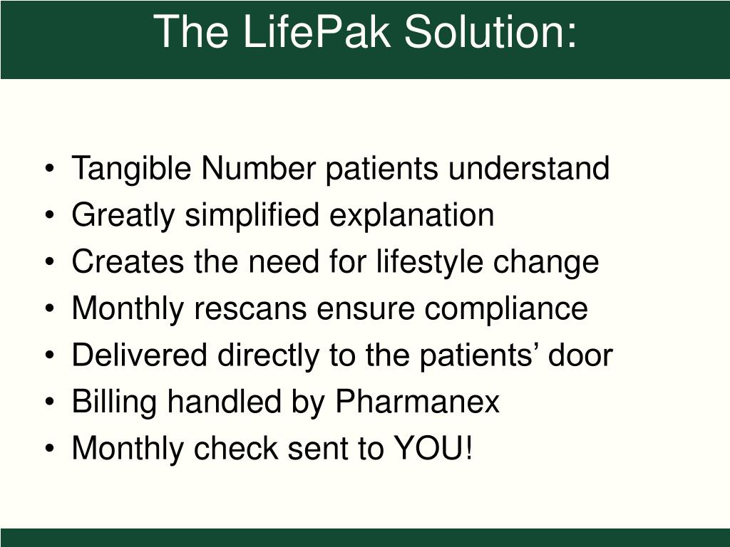 Tangible Number patients understand