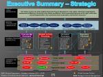 executive summary strategic map